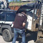 Polícia Civil deflagra ação em depósito de reciclagem e prende homem em Paraí.