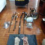 Prisões por caça e armas são realizadas em São Jorge